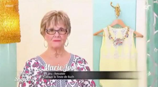 Vos avis et critique sur Marie José des reines du shopping le 24/11 #LRDS