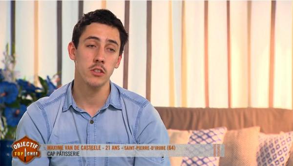 Maxime part en finale d'Objectif Top Chef saison 2