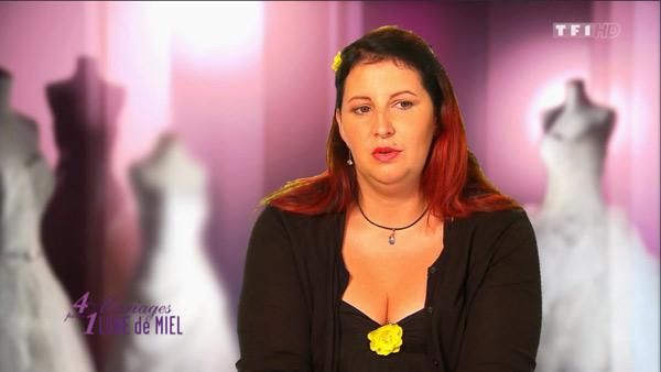 Le mariage de Myriam avec Kevin dans 4 mariages pour 1 lune de miel sur TF1