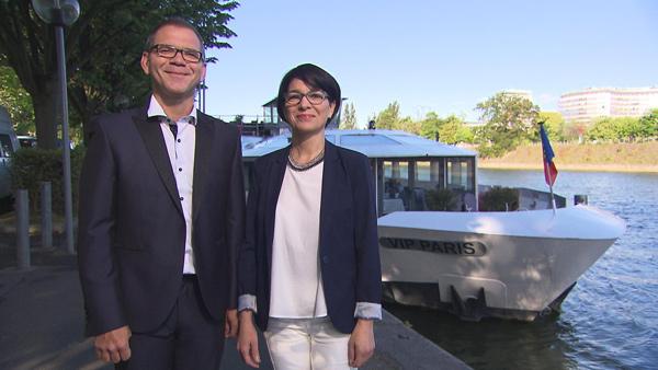 Avis et commentaires sur l'hôtel yacht de Nelly et Ludovic de Bienvenue à l'hôtel / Crédit photo TF1