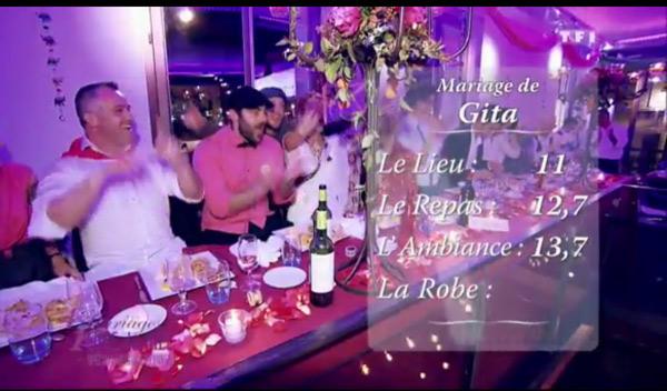 Les notes de Gita et Pierre dans 4 mariages sur TF1 : peut-elle être la gagnante ?
