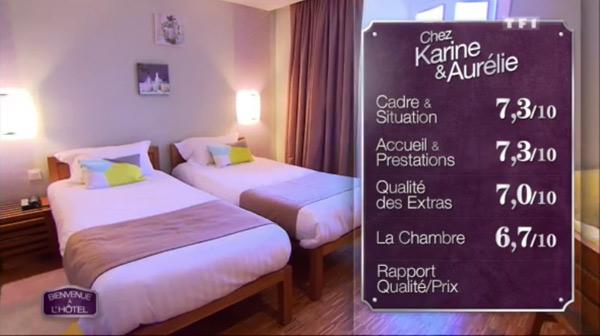 Les notes de Karine et Aurélie avec leur hôtel peuvent-elles les faire gagner ?
