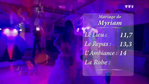Les notes de Myriam dans 4 mariages pour 1 lune de miel