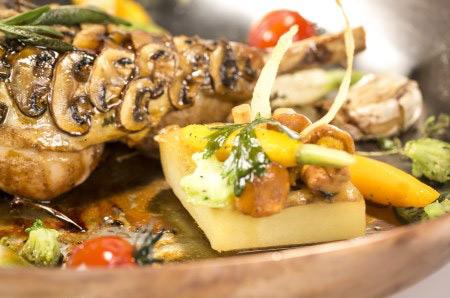 Les recettes gourmandes d'objectif top chef du 2 au 6 novembre 2015 / Crédit : Guillaume MIRAND/M6
