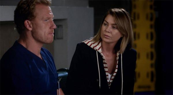 Owen et Meredith en confidences dans le final Grey's anatomy saison 12 x05