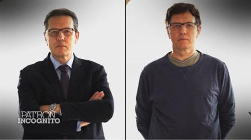 La métamophose (ou pas) d'Alain Brière des Balladins pour Patron Incognito / Capture écran-M6