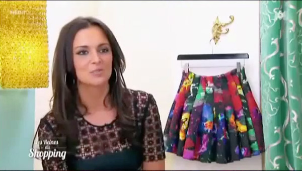 Sarah la sexy girl des reines du shopping le 27/11/2015