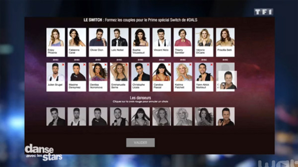 Voter pour les switchs de DALS 6 : quel danseur avec quel star ?