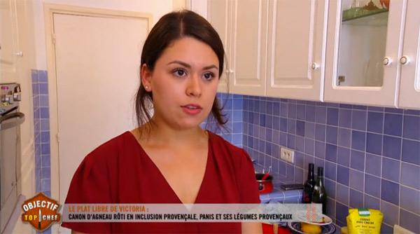 Victoria revient vendredi 27/11 pour Objectif Top Chef