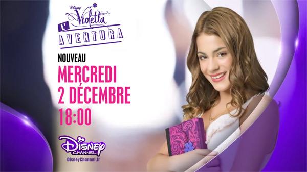 Vos avis et commentaires sur Violetta l'aventura le doc de Disney Channel