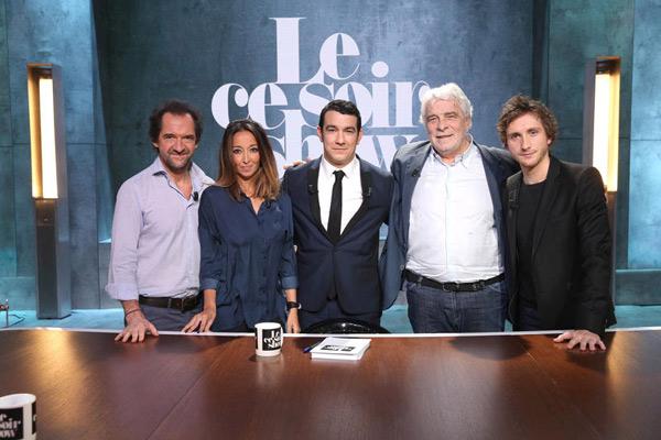 Les invités Le ce soir show du 21/12/2015 : quelle audience pour la première?  / Photo Maxime Bruno-C+