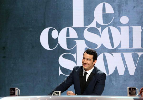 Thomas Thouroude le retour avec Le ce soir show / Photo Maxime Bruno -C+
