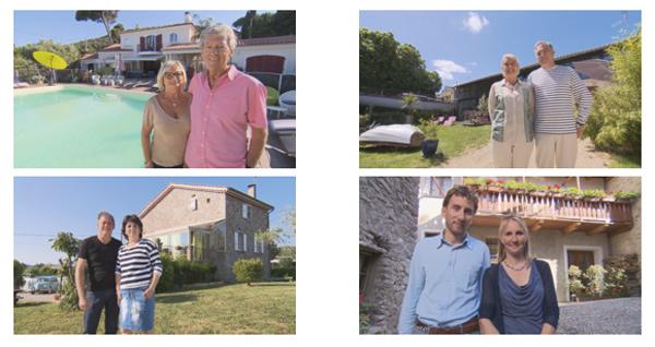 Les couples de Bienvenue chez nous du 18 au 22/01/2016 / Photo TF1