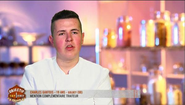 Charles Gantois a tout du gagnant Objectif Top Chef saison 2 ! vos avis et commentaires.