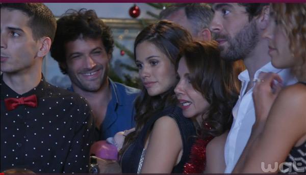 Adrian avec Caro, Clem et Jérôme