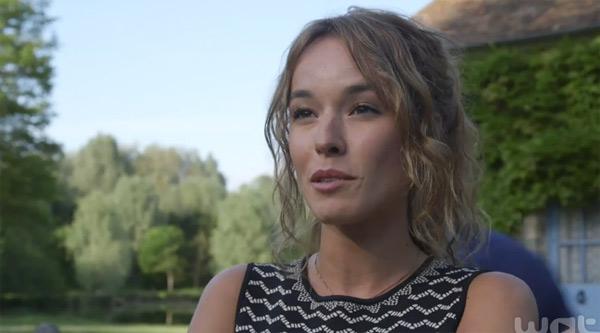 Elodie Fontan alias Alizée se sent en famille dans Clem