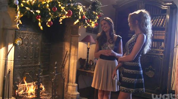 Clem et Alizée en pleine discussion
