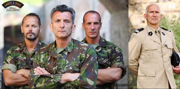 La direction de Garde à vous sur M6 c'est Marius, les chefs Fréderic et Dom : le service militaire à la dure est de retour
