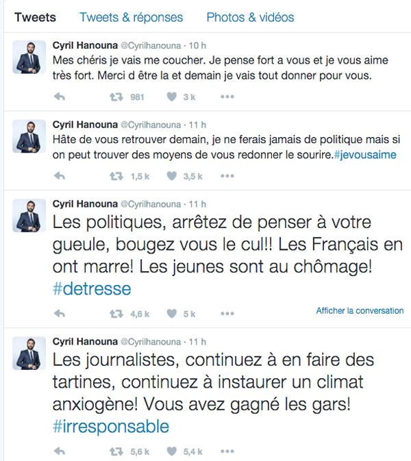 Cyril Hanouna vs le politiciens et journalistes #régionales2015 et montée du FN