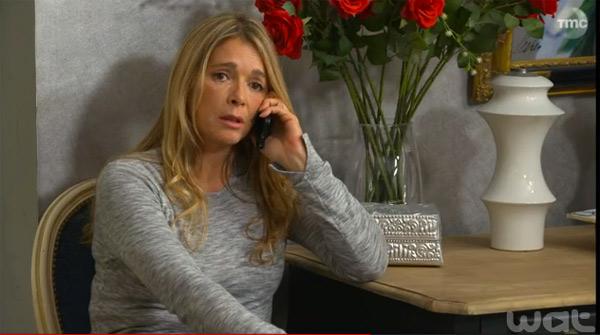 Hélène inquiète sur la déprime d'Audrey à cause de la mort d'Etienne