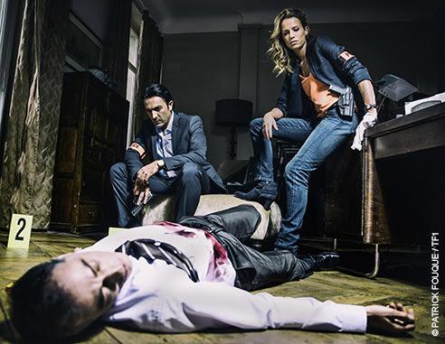 L'équipe de Instinct la série policière de Kowolski et Sybille