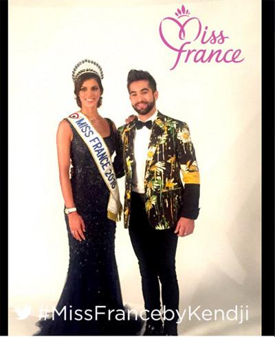 Vos avis sur Iris la miss France 2016 avec Kendji et sa veste ultra colorée