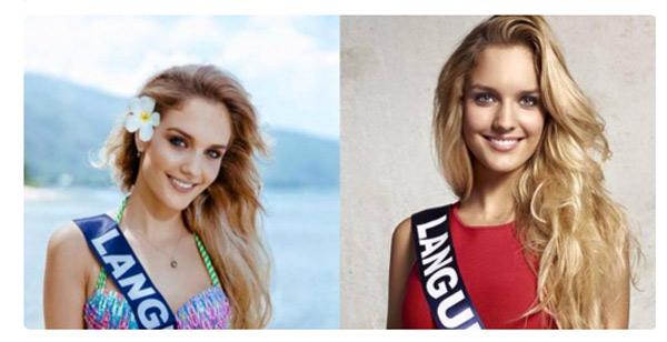 Vos avis sur Lena Stachurski dans Miss France 2016 / Photo twitter