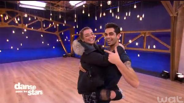 Priscilla et Christophe Licata prêts à bosser comme des malades pour ne pas être éliminés de Danse avec les stars le 12/12/2015