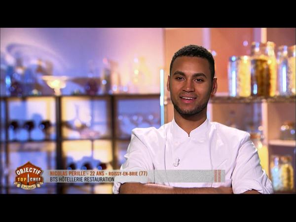 Nicolas Pérille éliminé dans Objectif Top Chef 2
