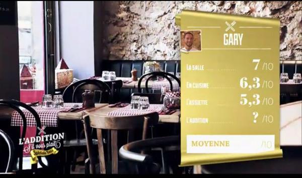 Les bonnes notes de Gary pour sa guinguette en Ile de France