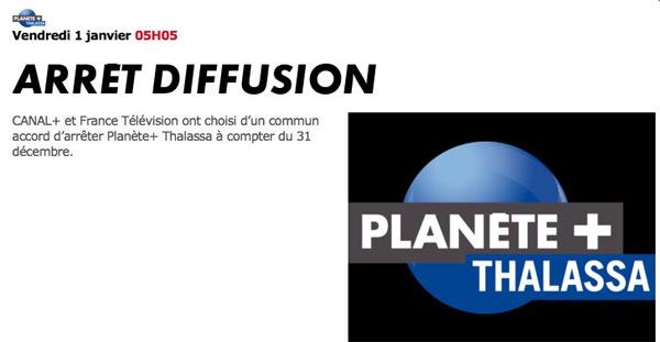Avis et réactions sur l'arrêt de Planète Thalassa