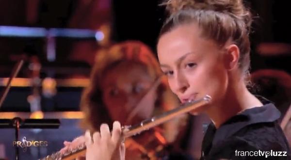 Fanny à la flûte dans Prodiges saison 2 le 26/12