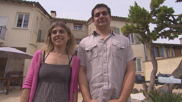 Avis et adresse sur la maison d'hôtes de Rozenn et Mathieu de Bienvenue chez nous / Photo TF1