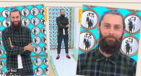 Le défilé de Yannick avec sa barbe plus courte dans #LRDS