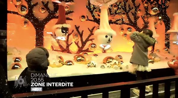 Zone Interdite : les grands magasins à Noël - capture M6