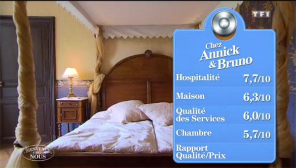Annick et Bruno gagnants Bienvenue chez nous vendredi avec le 2 pour la chambre ?