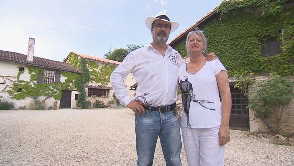Avis et commentaires sur les tipis de Sylvie et RObert en Charente pour Bienvenue chez nous sur TF1
