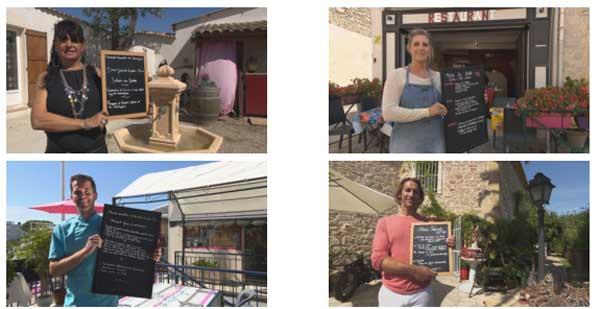 Les restaurateurs en Camargue pour TF1
