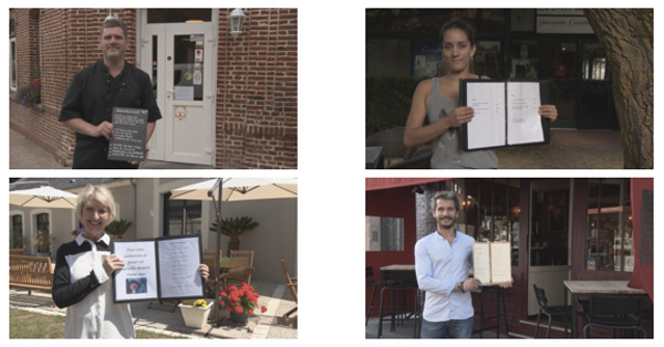 Les 4 restaurateurs Picardie de l'addition SVP
