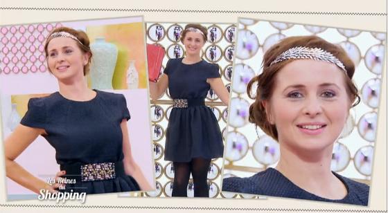 Le défilé d'Alice dans les reines du shopping le 25/01/2016