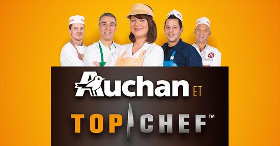 Auchan Top Chef 2016 la tournée des candidats et de nombreux jeux relancés