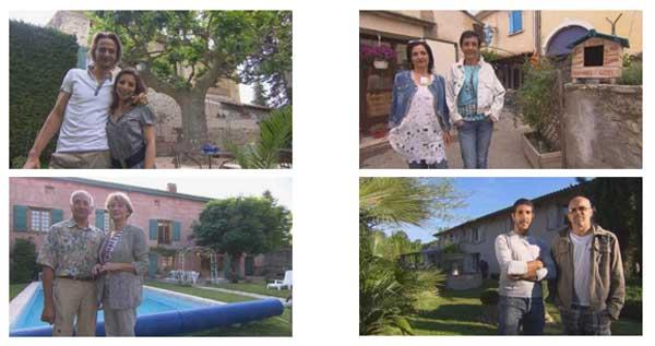 Les maisons d'hôtes de Bienvenue chez nous du 22 au 26/02/2016