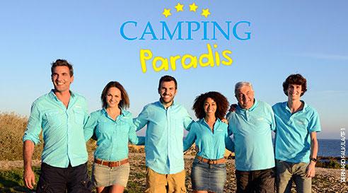 """Toute l""""équipe 2016 de Camping Paradis sur TF1"""