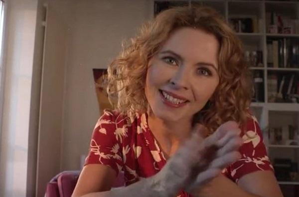 Nathalie l'ex femme de Xavier et mère de Dimitri et Anouchka / Capture écran