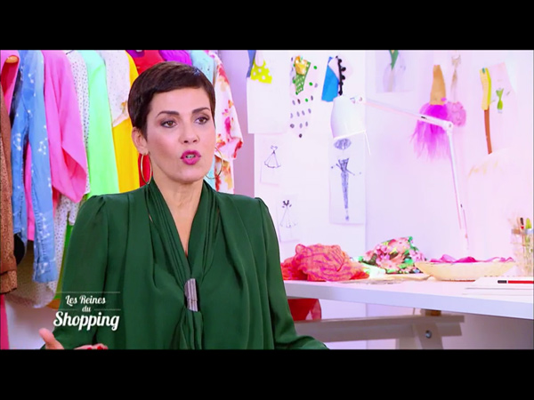 Le chignon débarque dans les reines du shopping de fin janvier 2016 sur M6