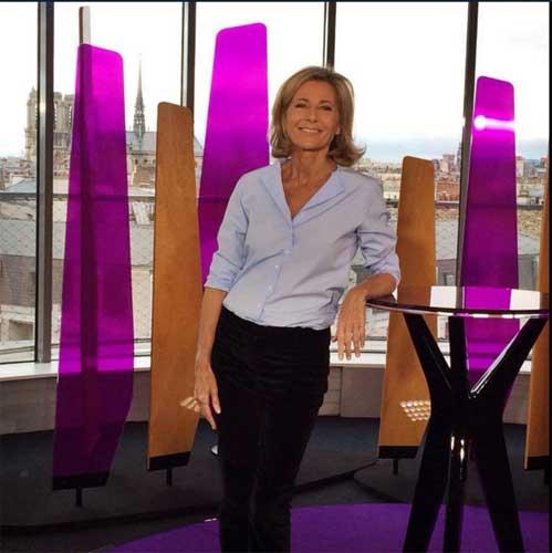 Entrée Libre avec Claire Chazal qui succède à Laurent Goumarre / Photo France 5