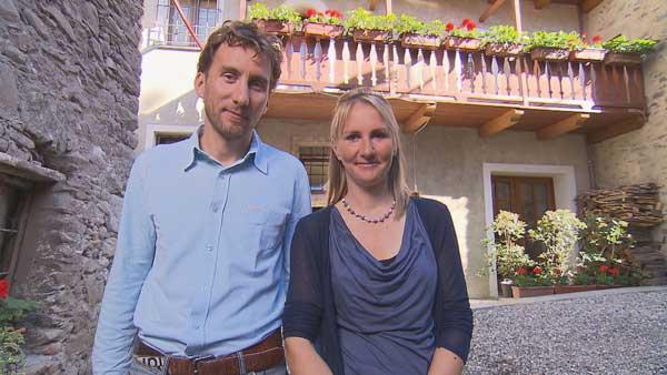 Avis et commentaires sur Jeannette et Laurent dans Bienvenue chez nous / Photo TF1