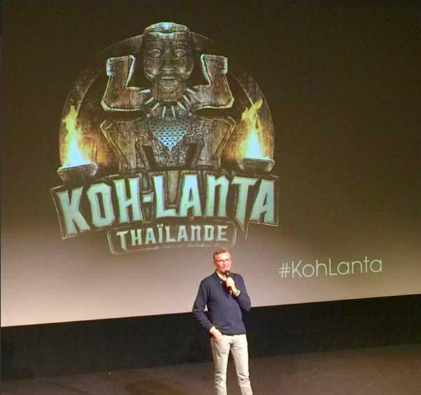 La conférence de presse Koh Lanta Thaïlande 2016  diffusé le 7 janvier pour les journalistes