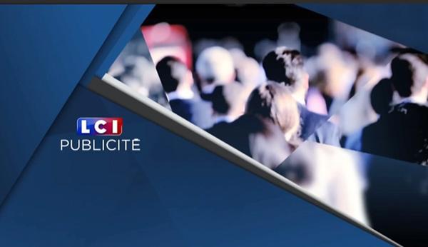 L'écran de pub dans la nouvelle LCI au 1er janvier : vous trouvez joli ?