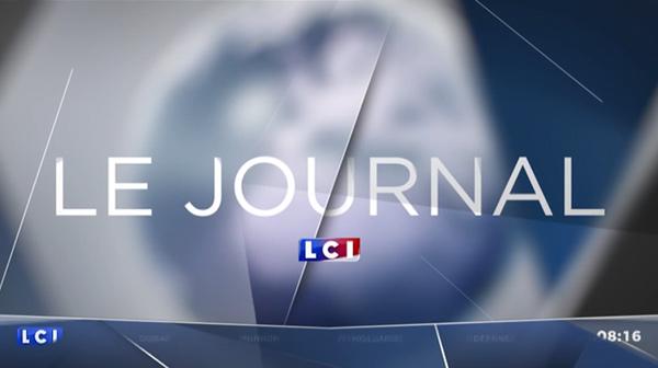 Ecran pour LCI Journal 2016